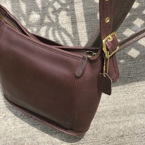 Coach Bags - Vintage Coach Leather Andrea Bucket Style Hobo Bag